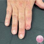 fingernail tattoo